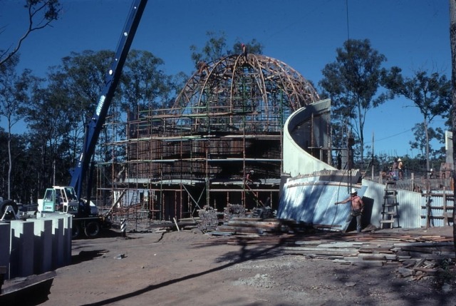 Sir Thomas Brisbane Planetarium in 1977
