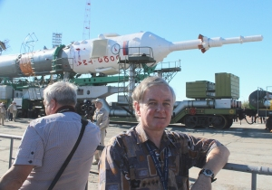 Mark with Soyuz