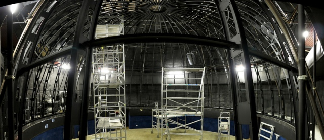 Brisbane Planetarium Dome Progress