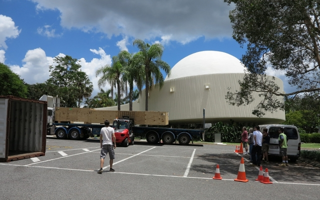 New Dome Arrives in Brisbane