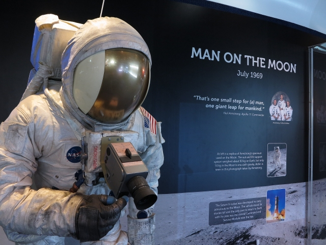 Apollo 11 Display at Brisbane Planetarium