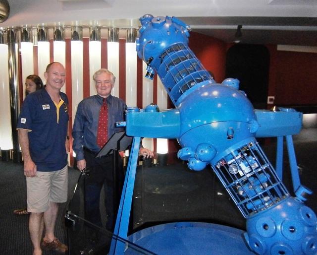 Queensland Premier Visits Brisbane Planetarium