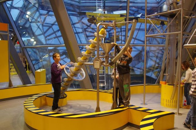Children enjoying an interactive in the Copernicus Science Centre.  Photo Credit: Martin George