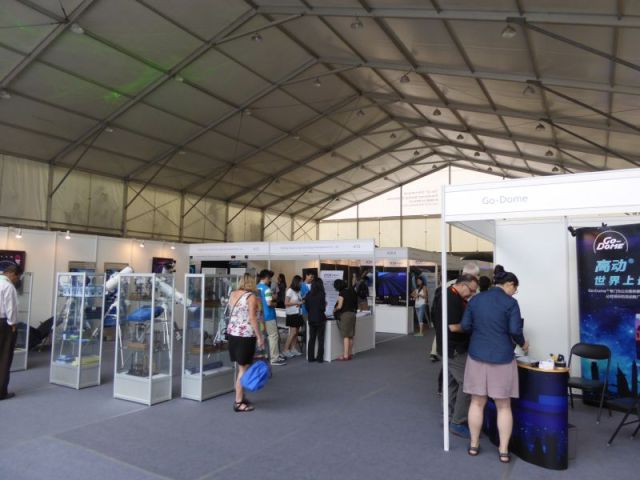 Vendors Exhibition Hall Interior