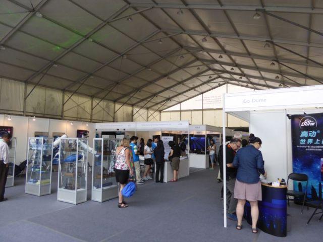 Vendors Exhibition Hall Interior