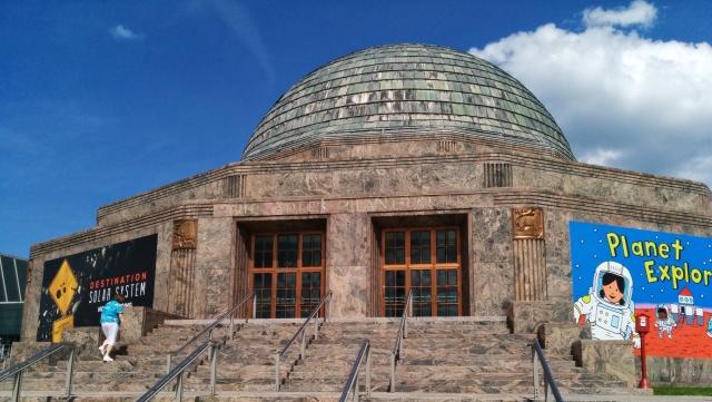 Adler Planetarium entrance_Nick Lomb