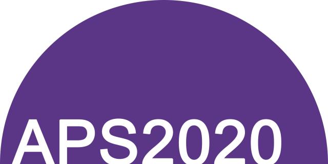 APS2020 logo